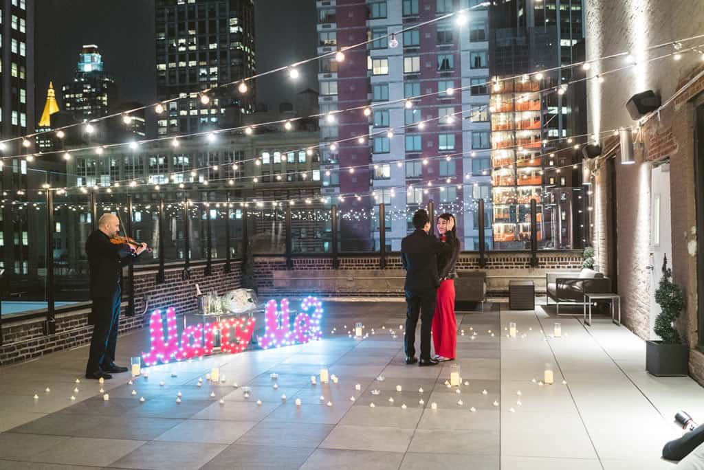 Best Rooftop for Marriage proposal in NYC
